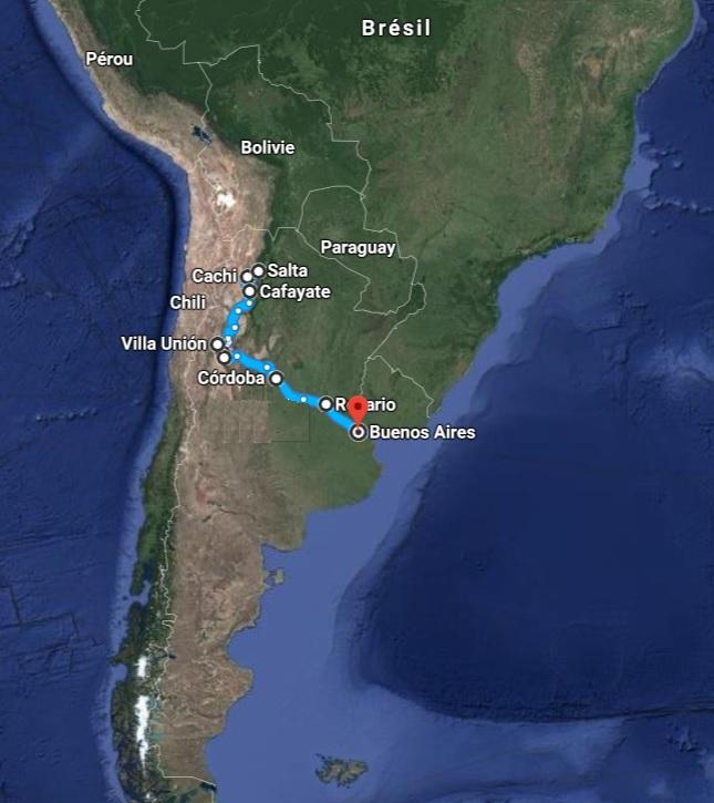 argentine road trip